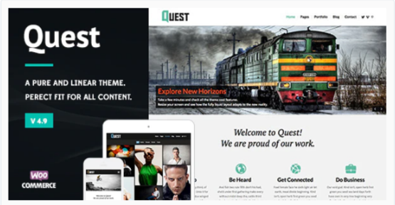 Download Quest – All Purpose WordPress Theme Nulled