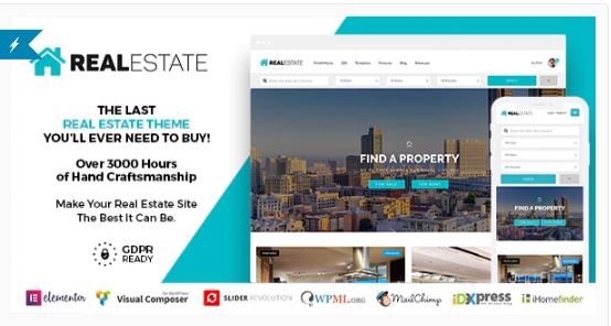 Download Real Estate 7 WordPress Nulled