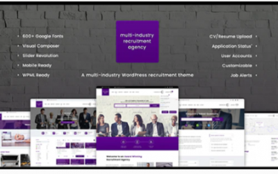 You are downloading Recruitment Agency - Multi Industry Responsive WordPress Theme Nulled whose current version has been