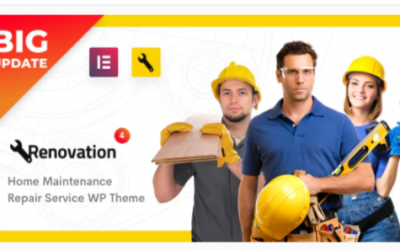 You are downloading Renovation - Repair Service, Home Maintenance Elementor WP Theme Nulled whose current version has been getting more updates nowadays,