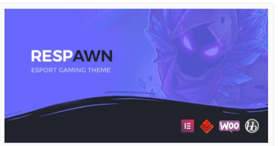 Download Respawn – Esports Gaming WordPress Theme Nulled