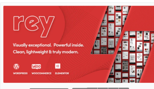 Download Rey – Multi-purpose & WooCommerce Theme Nulled