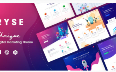 You are downloading Ryse - SEO & Digital Marketing Theme Nulled whose current version has been getting more updates nowadays, so, please keep visiting