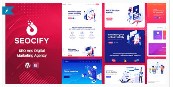 Download SEO & Digital Marketing Agency WordPress Theme Nulled