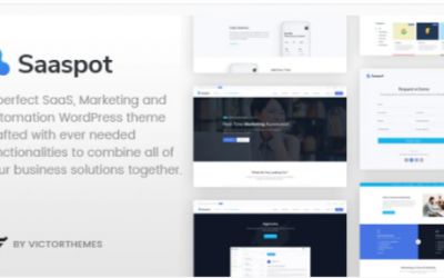 You are downloading SaaSpot - SaaS Marketing Automation WordPress Theme Nulled whose current version has been getting more updates nowadays,