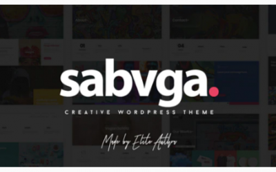 You are downloading Sabvga - Modern & Creative Portfolio Theme Nulled whose current version has been getting more updates nowadays, so, please