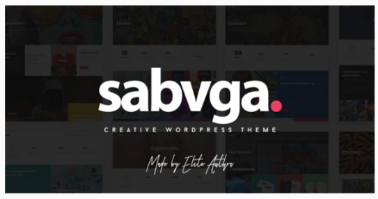 Download Sabvga – Modern & Creative Portfolio Theme Nulled