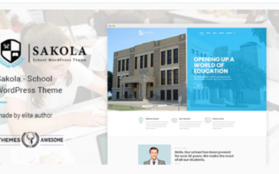 You are downloading Sakola | School WordPress Theme Nulled whose current version has been getting more updates nowadays, so, please keep visiting