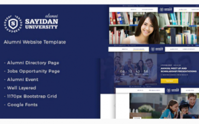 You are downloading Sayidan - University Alumni WP theme Nulled whose current version has been getting more updates nowadays, so, please keep visiting for getting