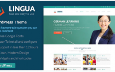 You are downloading School Or Instructor - Lingua WordPress Theme Nulled whose current version has been getting more updates nowadays, so, please