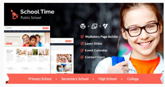 Download School Time – Modern Education WordPress Theme Nulled