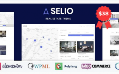 You are downloading Selio - Real Estate Directory Nulled whose current version has been getting more updates nowadays, so, please keep visiting for getting