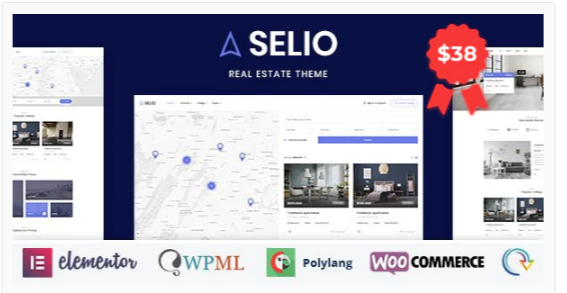 Download Selio – Real Estate Directory Nulled
