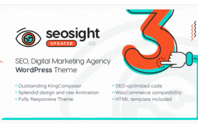 You are downloading Seosight - SEO, Digital Marketing Agency WP Theme with Shop Nulled whose current version has been getting more updates nowadays,