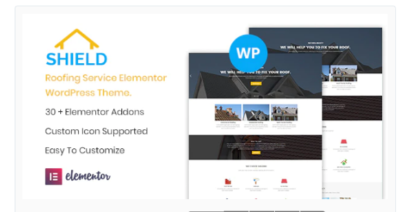 Download Shield – Roofing Service Elementor WordPress Theme Nulled