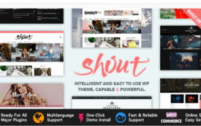 You are downloading Shout - Blogging WordPress Theme Nulled whose current version has been getting more updates nowadays, so, please keep visiting f