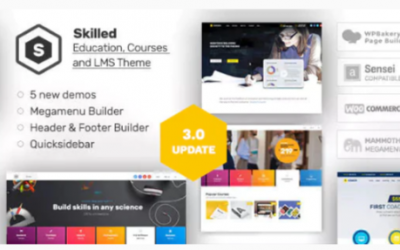 You are downloading Skilled | School Education Courses WordPress Theme Nulled whose current version has been getting more updates nowadays, so, please