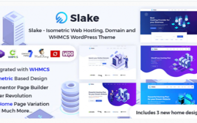 You are downloading Slake - Isometric Web Hosting, Domain and WHMCS WordPress Theme Nulled whose current version has been getting more updates
