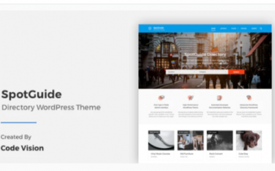 You are downloading SpotGuide - High Performance Directory WordPress Theme Nulled whose current version has been getting more updates nowadays, so, please