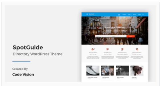 Download SpotGuide – High Performance Directory WordPress Theme Nulled