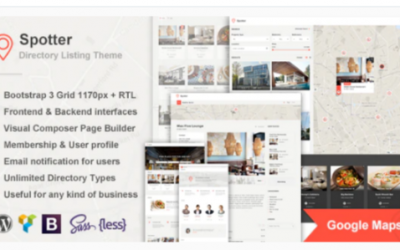 You are downloading Spotter – Universal Directory Listing WordPress Theme Nulled whose current version has been getting more updates nowadays, so, please