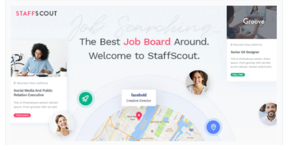 Download StaffScout – Job Board and Employment Theme Nulled