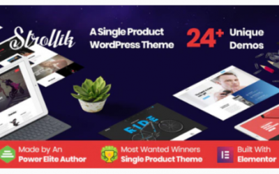 You are downloading Strollik - Single Product WooCommerce WordPress Theme Nulled whose current version has been getting more updates nowadays,