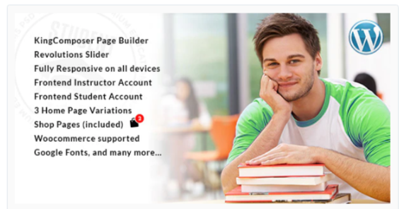 Download Student – WordPress Theme for University and LMS Nulled