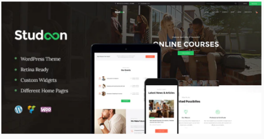 Download Studeon | An Education Center & Training Courses WordPress Theme Nulled
