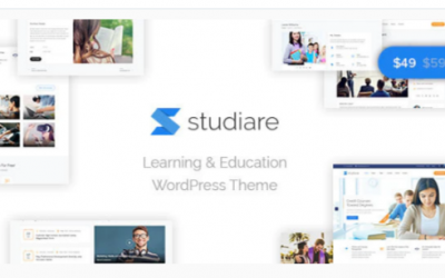 You are downloading Studiare - Education WordPress Theme for Univeristy & Online Courses Nulled whose current version has been getting more updates