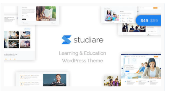 Download Studiare – Education WordPress Theme for Univeristy & Online Courses Nulled