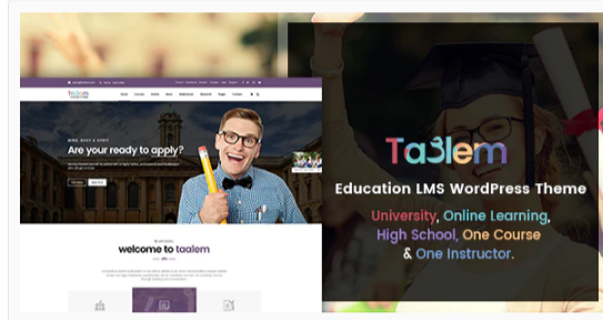 Download Taalem – Education LMS WordPress Theme Nulled
