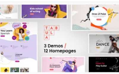 You are downloading Tabula - Art, Music & Language School Nulled whose current version has been getting more updates nowadays, so, please keep visiting for getting