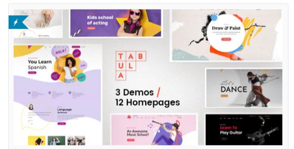Download Tabula – Art, Music & Language School Nulled