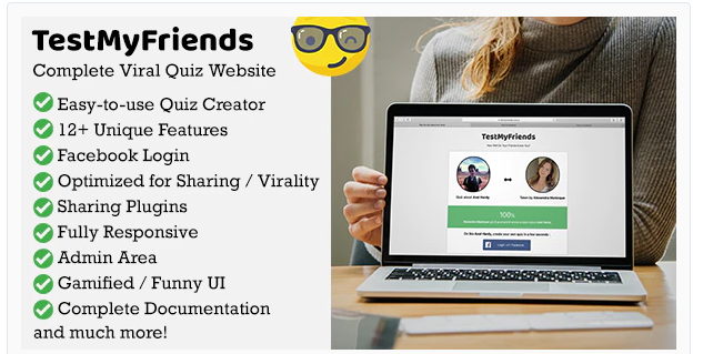 You are downloading TestMyFriends - Complete Viral Friend Quiz Website Nulled whose current version has been getting more updates nowadays, so, please