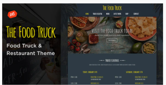 Download The Food Truck – WordPress Theme Nulled