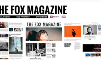 You are downloading The Fox - Minimal Blog/Magazine Theme For Creators Nulled whose current version has been getting more updates nowadays, so, please
