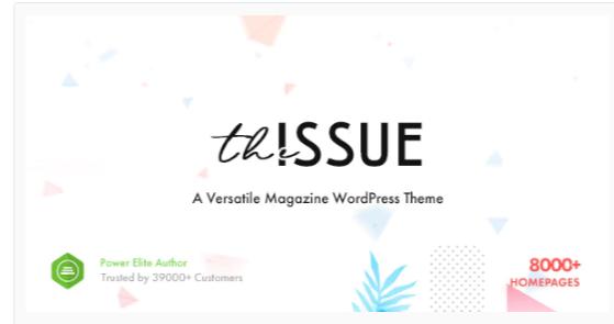 Download The Issue – Versatile Magazine WordPress Theme Nulled