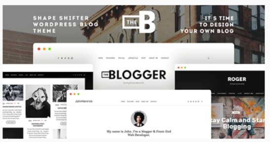 Download TheBlogger WordPress Theme Nulled