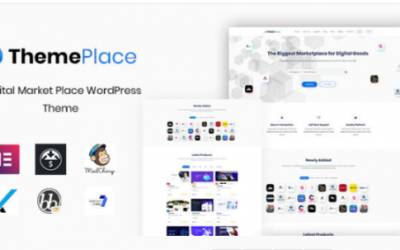 You are downloading ThemePlace - Marketplace WordPress Theme Nulled whose current version has been getting more updates nowadays, so, please