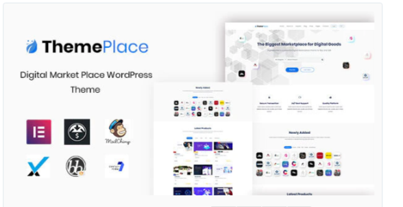 Download ThemePlace – Marketplace WordPress Theme Nulled