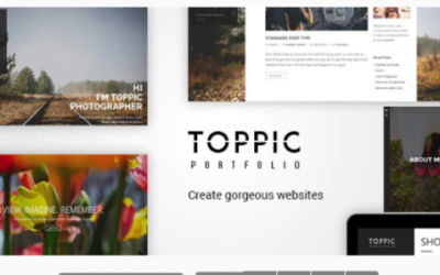 You are downloading TopPic - Portfolio Photography Theme Nulled whose current version has been getting more updates nowadays, so, please keep visiting for getting
