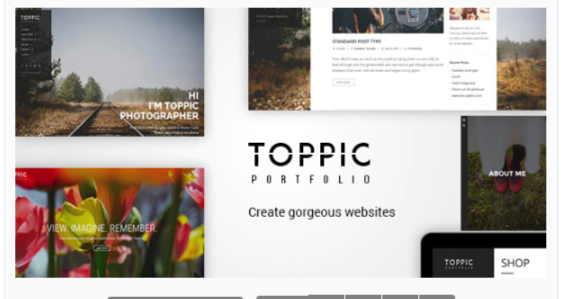 Download TopPic – Portfolio Photography Theme Nulled