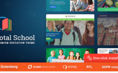You are downloading Total School - Education WordPress Theme Nulled whose current version has been getting more updates nowadays, so, please keep visiting