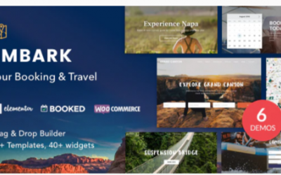 You are downloading Tour Booking & Travel WordPress Theme - Embark Nulled whose current version has been getting more updates nowadays, so, please