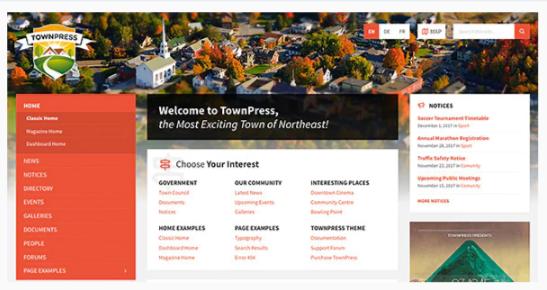 Download TownPress – Municipality WordPress Theme Nulled