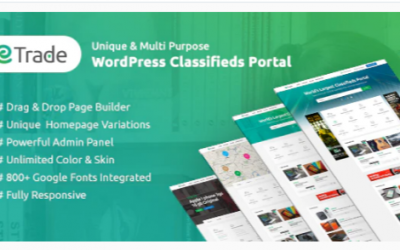 You are downloading Trade - Modern Classified Ads WordPress Theme Nulled whose current version has been getting more updates nowadays, so, please