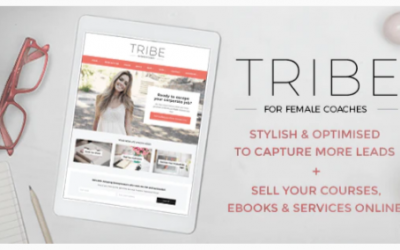 Download Tribe Coach - Feminine Coaching Business WordPress Theme Nulled