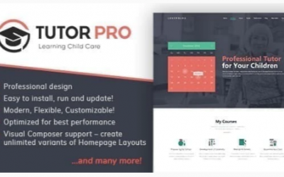 You are downloading Tutor Pro | Education WordPress Nulled whose current version has been getting more updates nowadays, so, please keep visiting f