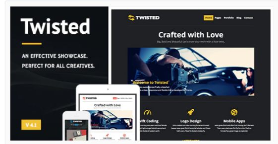 Download Twisted – Showcase WordPress Theme Nulled